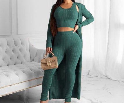 "Image of ""Set It Off"" 3 Pc Duster Set"
