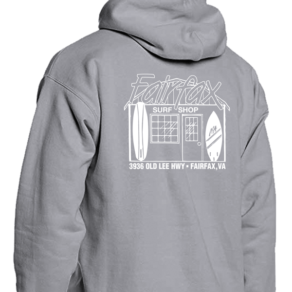 Image of Light Steel & Black Hoodie