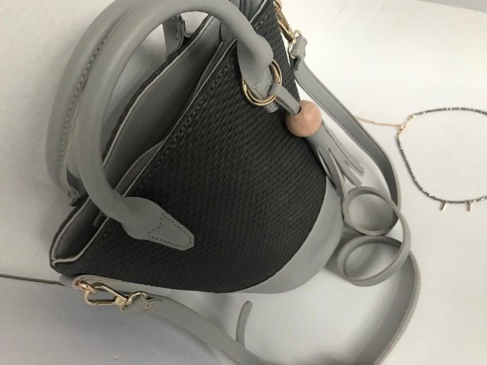 Image of Grey bucket purse 🤩
