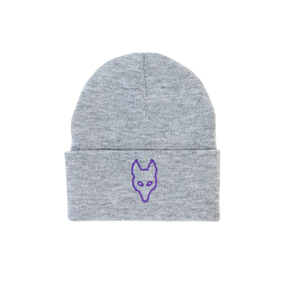 Image of We.R.Wolves Grey Wolf Knit Toque