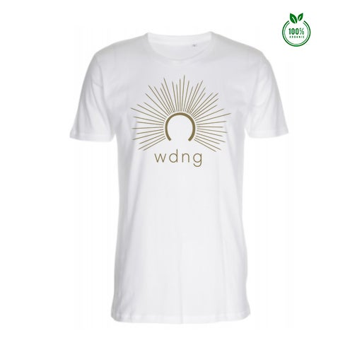 Image of Organic WDNG Halo T-shirt (Gold or Black)