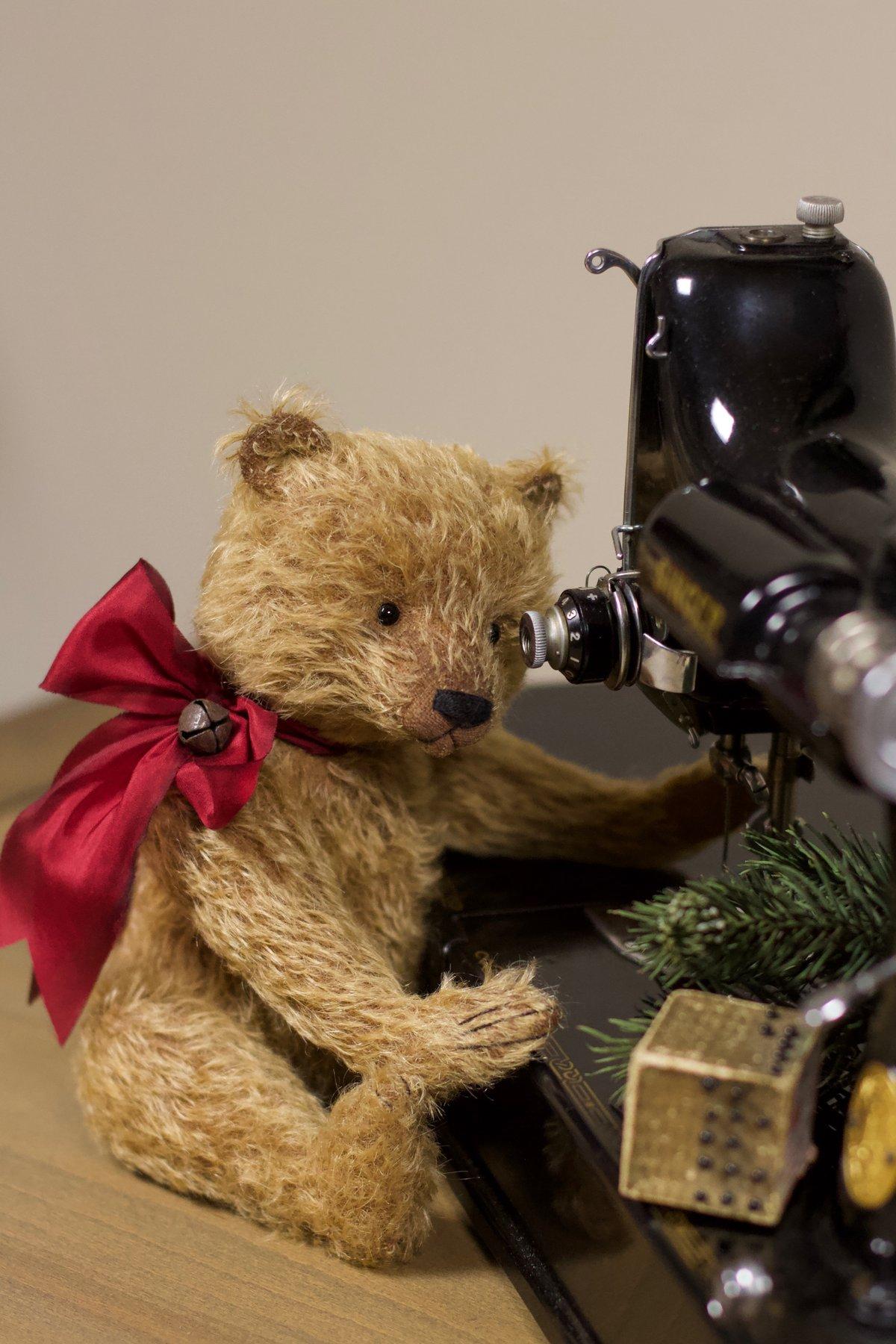 Image of An Olde Bear KIT ~ GOLDEN mohair ~ Make a teddy!