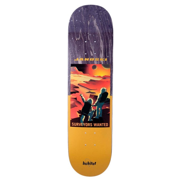 Image of Habitat NASA Skateboard Deck - Stefan - 8.875""