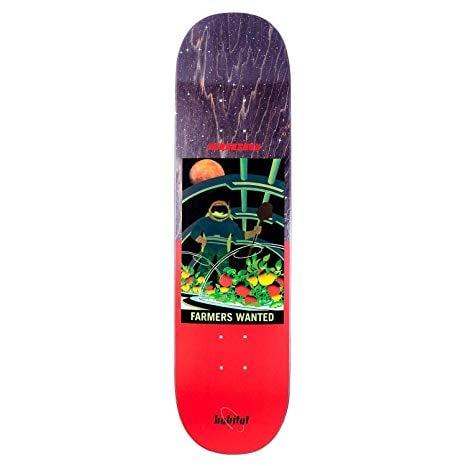 "Image of Habitat NASA Skateboard Deck - Suciu - 8.00"""