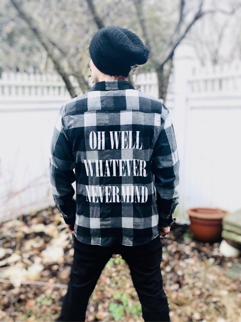 Image of Nevermind Flannel
