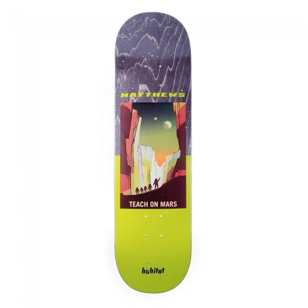 Image of Habitat NASA Skateboard Deck - Matthews - 8.5""