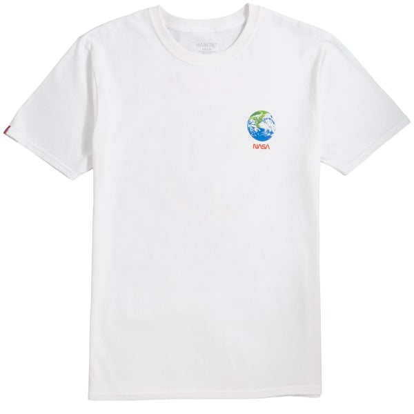 Image of Habitat NASA Earth Observer T-Shirt - White