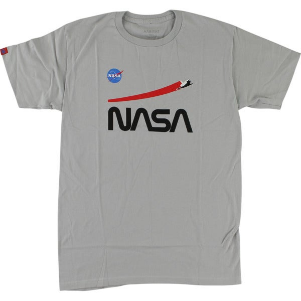 Image of Habitat NASA Shuttle Flight T-Shirt - Grey