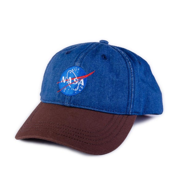 Image of HABITAT NASA LOGO DAD HAD CAP