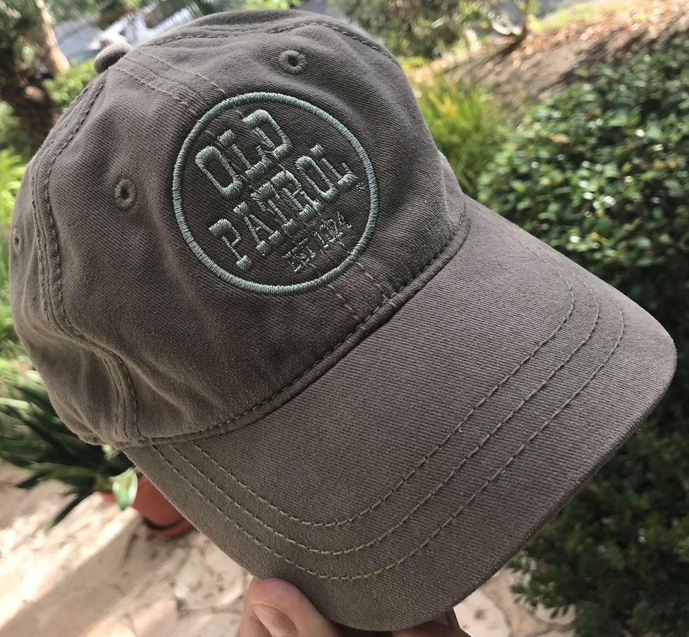 Image of DRAB GREEN OLD PATROL HAT