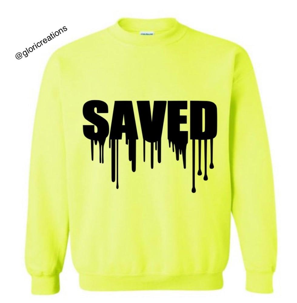 Image of Saved Crewneck Sweatshirt