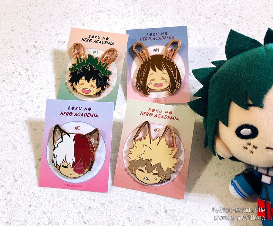 Image of [Enamel Pins] BNHA