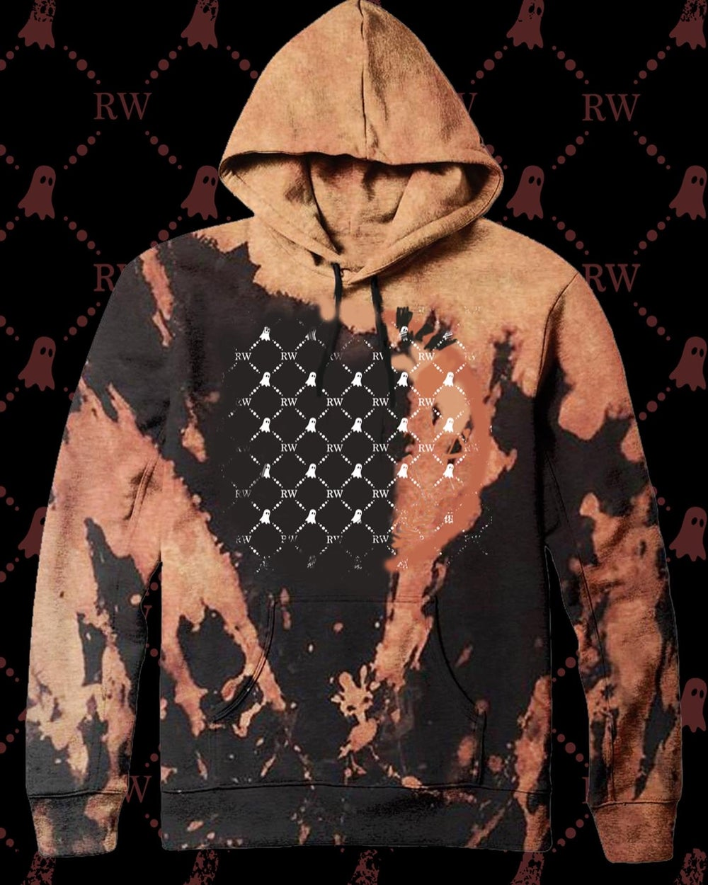 Image of LUXURY GHOST HOODIE