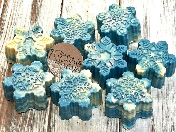 Image of Snowflake Goat Milk Soap
