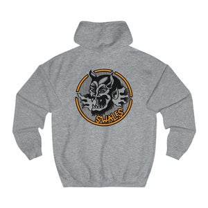 Image of Swales Demon Hood (Front and Back Print)