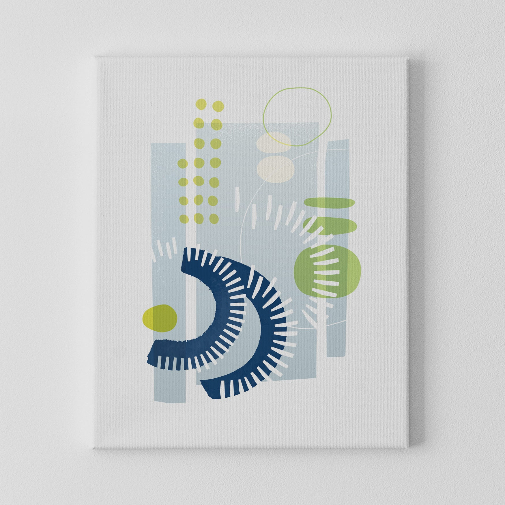 Image of Rhythm & Rhyme No. 1 Canvas Print
