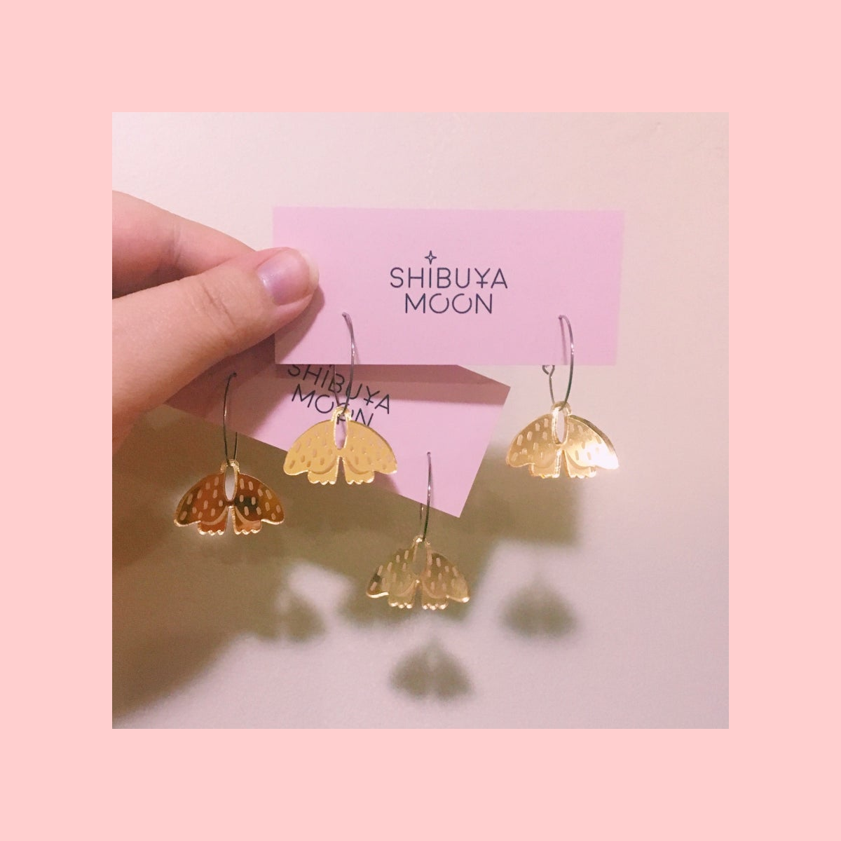 Image of Mini Forest Moth (Gold)