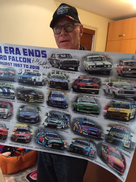 Image of An Era Ends - Ford Falcon at Bathurst 1967 to 2018. Signed.