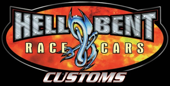 Image of Hell Bent Race Cars Decal