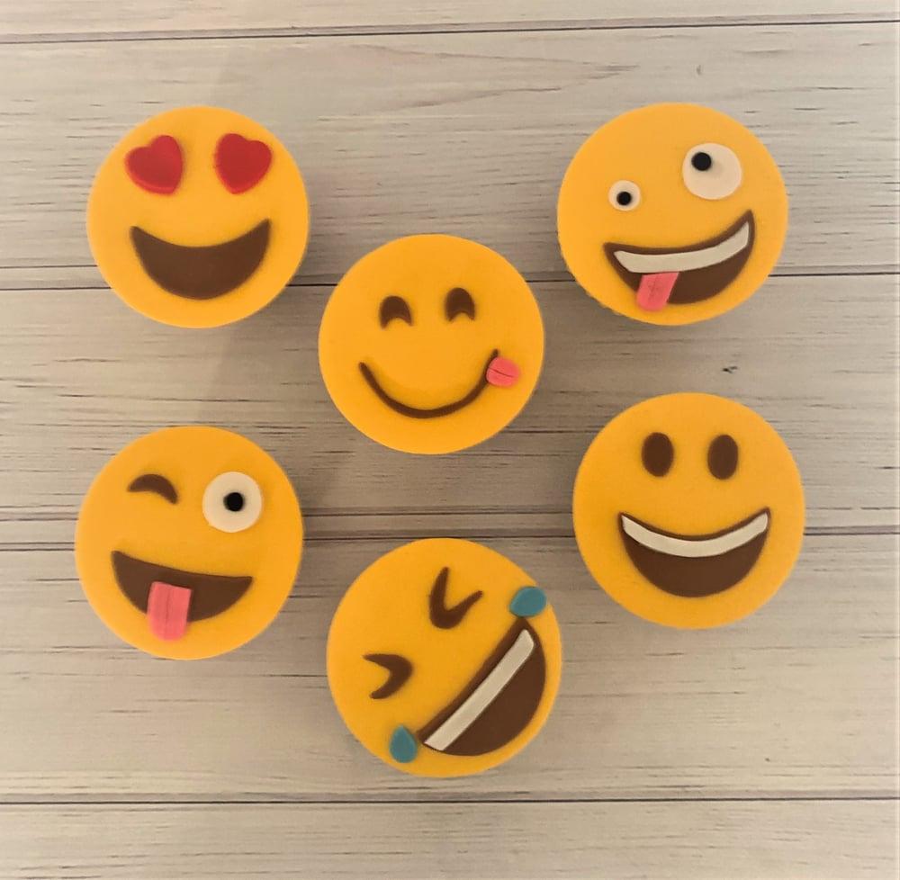 Image of Emoji Cupcakes