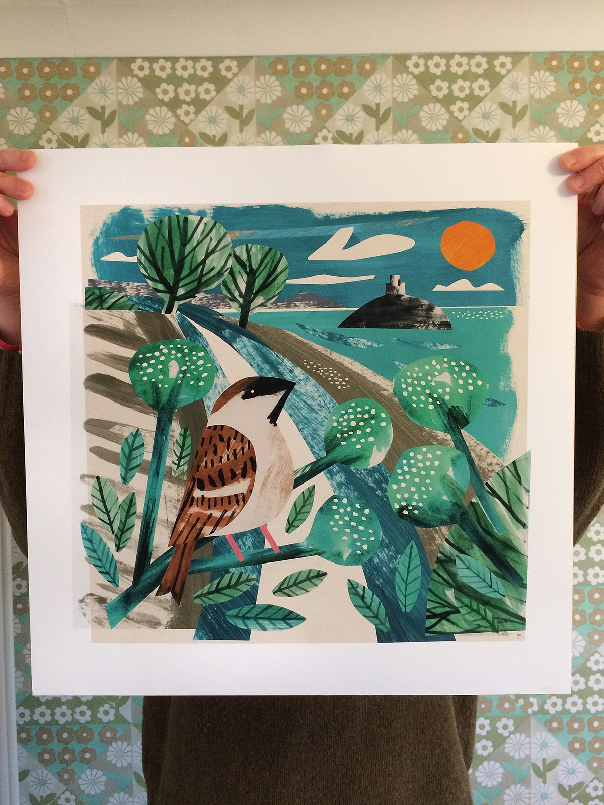 Image of Mount's Bay Sparrow Print