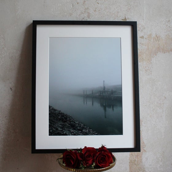 "Image of Photo Print ""Harbour, Mannheim 12/2016"""