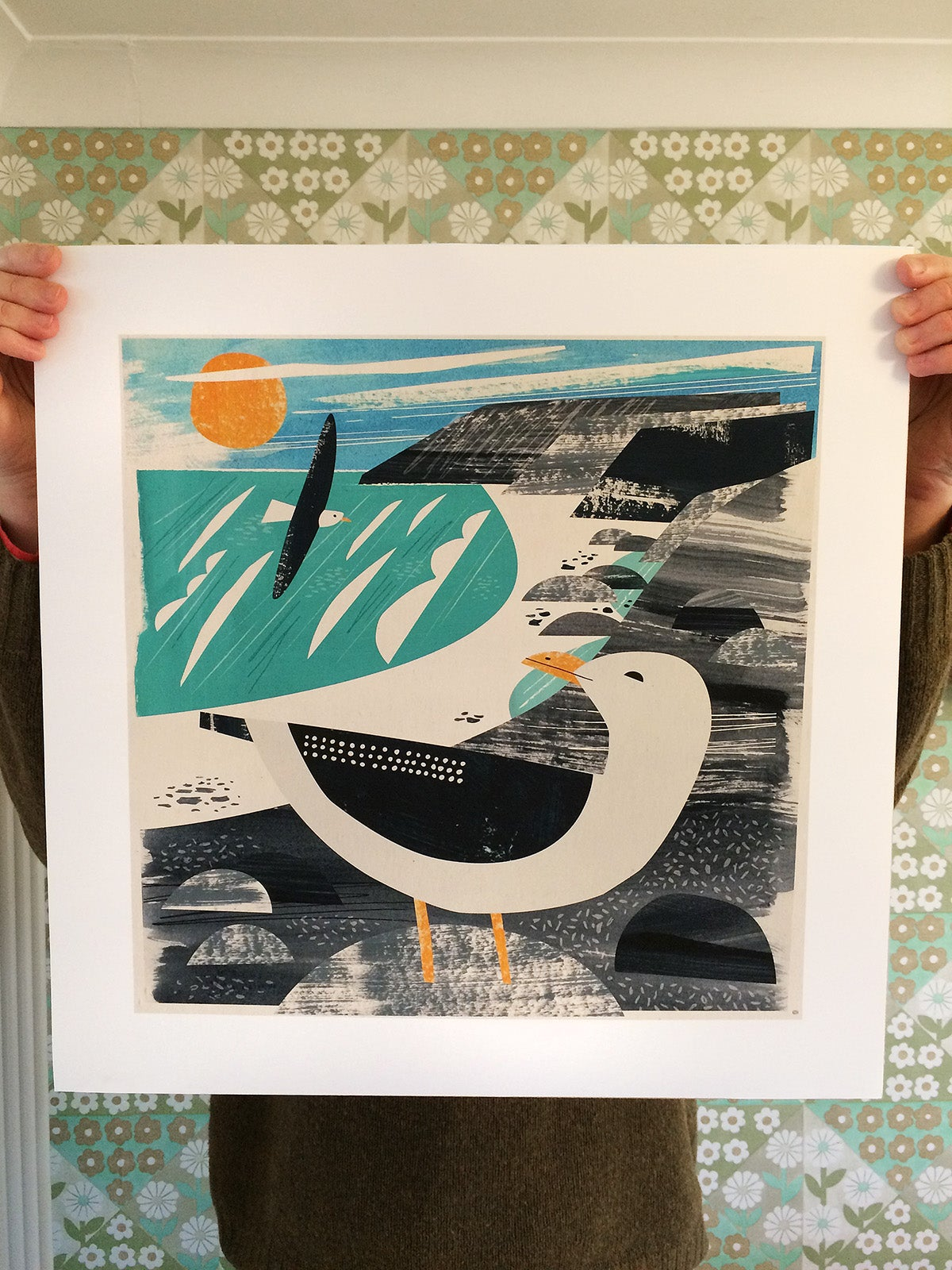 Image of Treen Gull Print