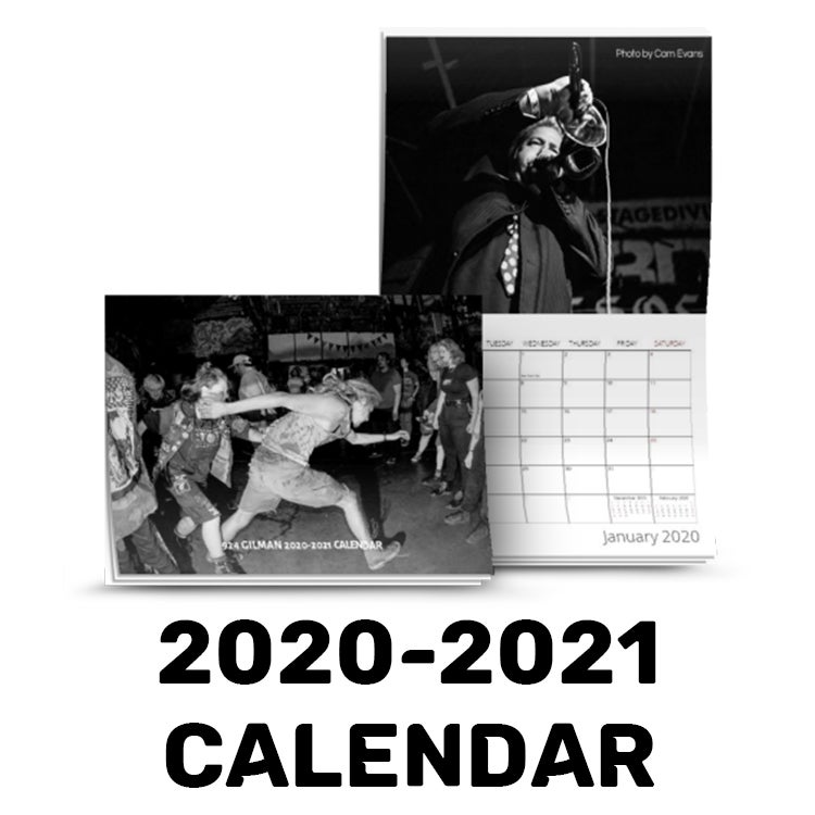 Image of 2020-2021 924 Gilman Photo Calendar