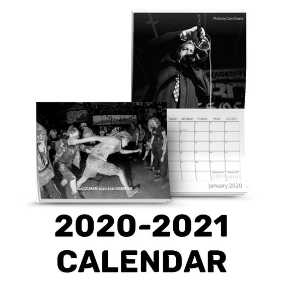 Image of 2020-2021 924 Gilman Photo Calendar
