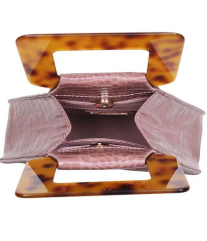 Croc Pyramid Handbag