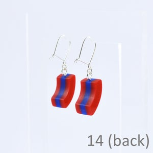 Image of Little Layered Lump Earrings 14 and 15