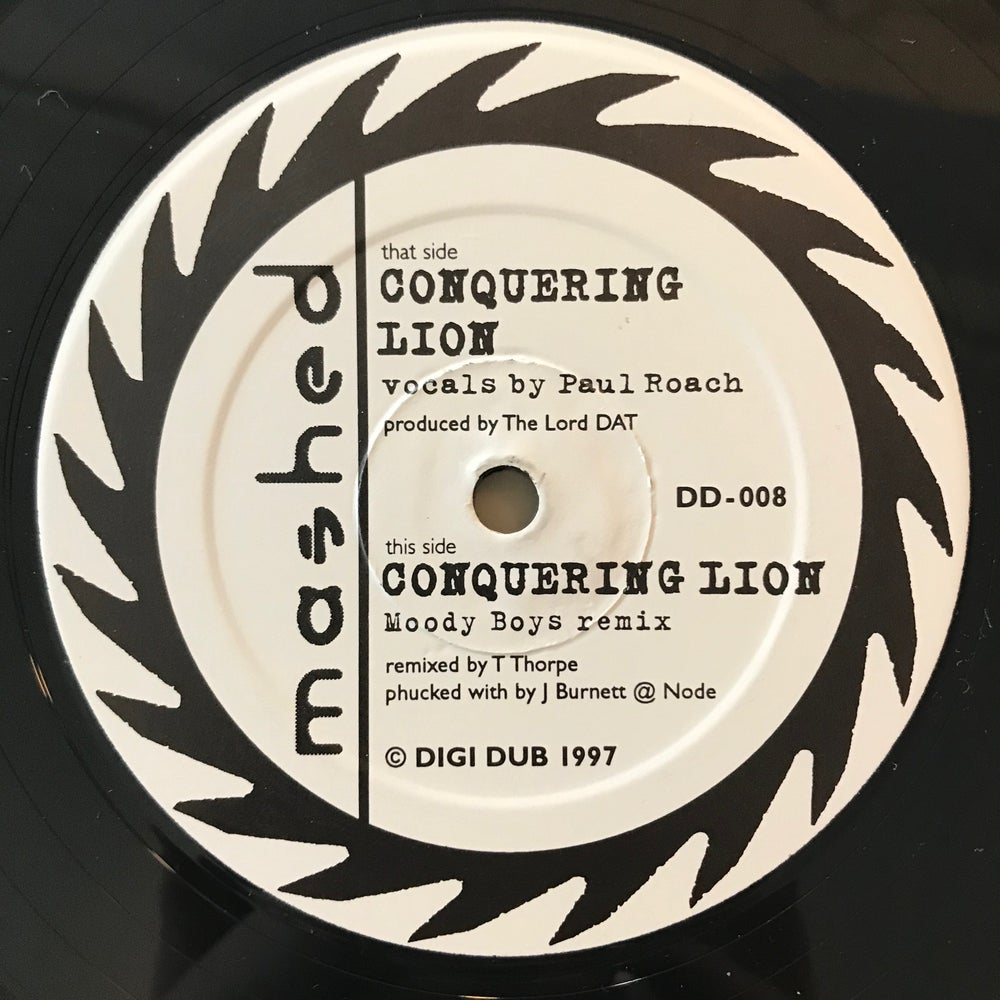 Image of Mashed - Conquering Lion 12""