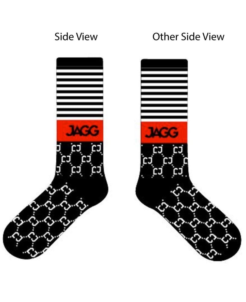 """Image of Red Stripe """"Zonin"""" Jagg Sock"""
