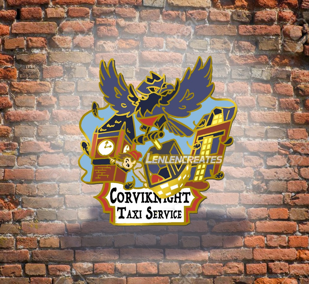 "Image of ""Corviknight Taxi Service� LE Pin"