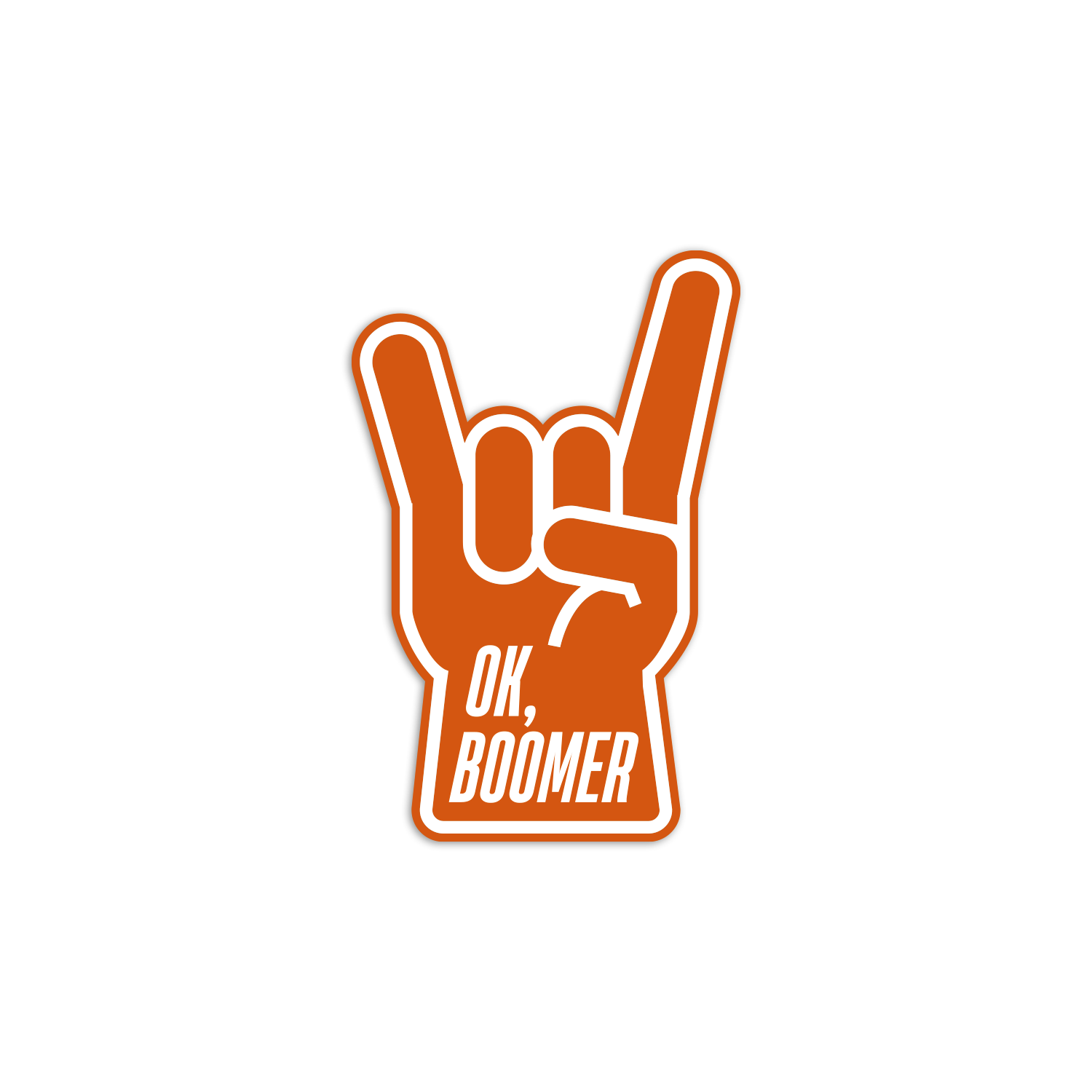 Image of OK, Boomer Sticker