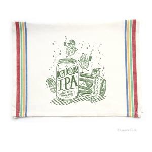Image of IPA Beer Funny Food Tea Towel