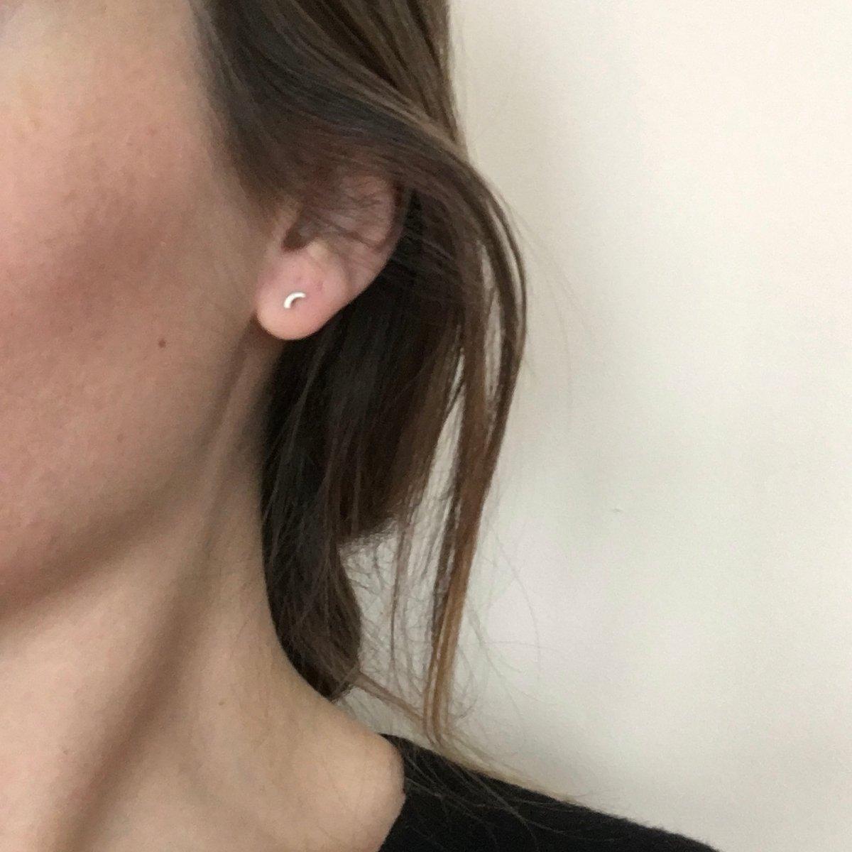 Image of mini arc earring