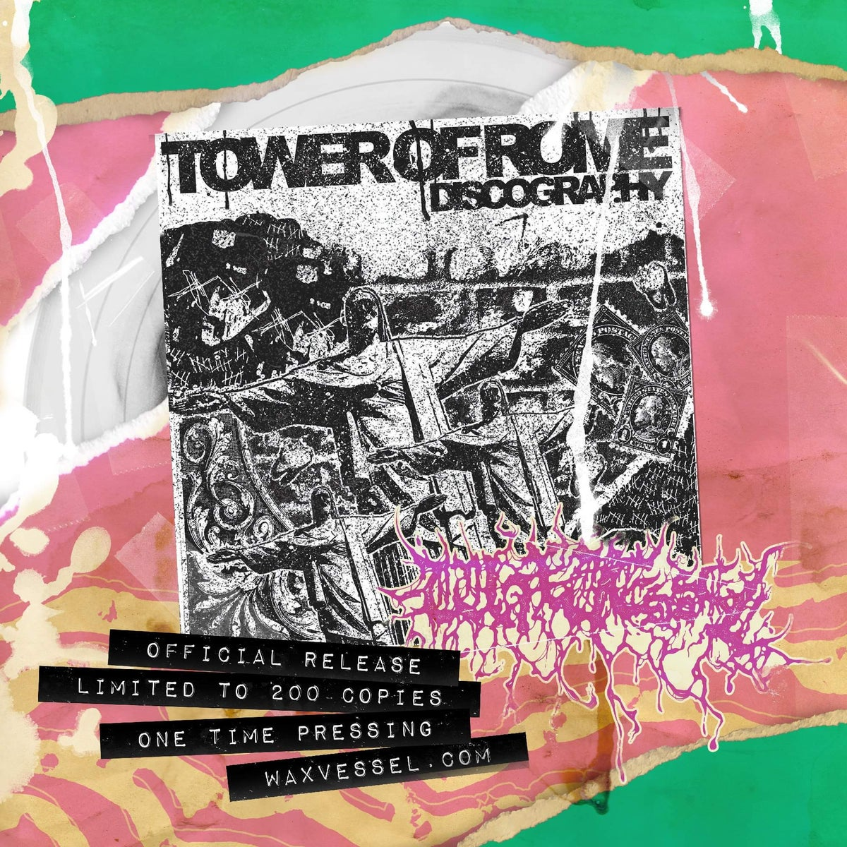 Image of TOWER OF ROME - Discography