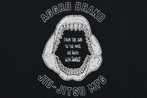 "Image of AGGRO BRAND ""JAWS"" T-Shirt"
