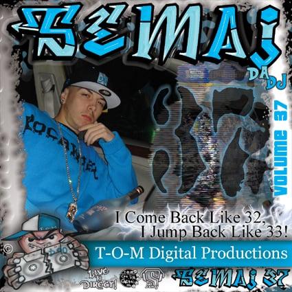 Image of Semaj da Dj - Volume 37 (2008)