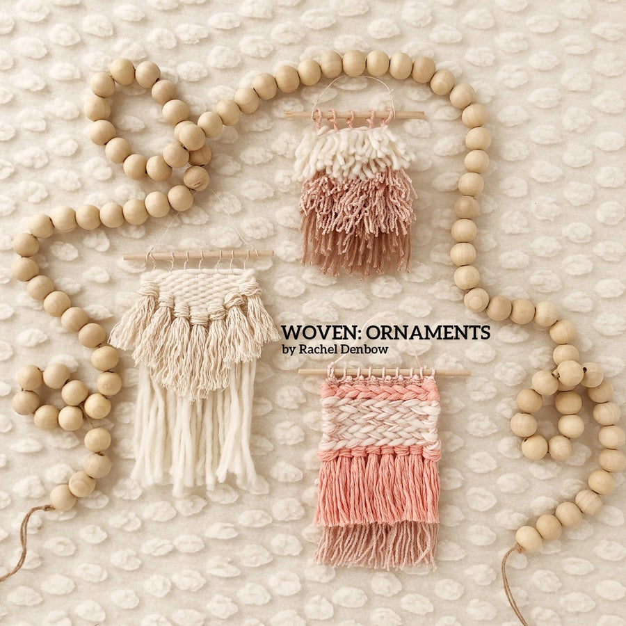 Image of Woven: Ornaments mini eCourse