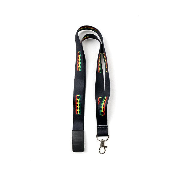 """Image of AGGRO BRAND """"ROOTS"""" Lanyard Keychain"""