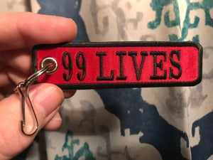 Image of NEW!!! 99 Lives key chains!