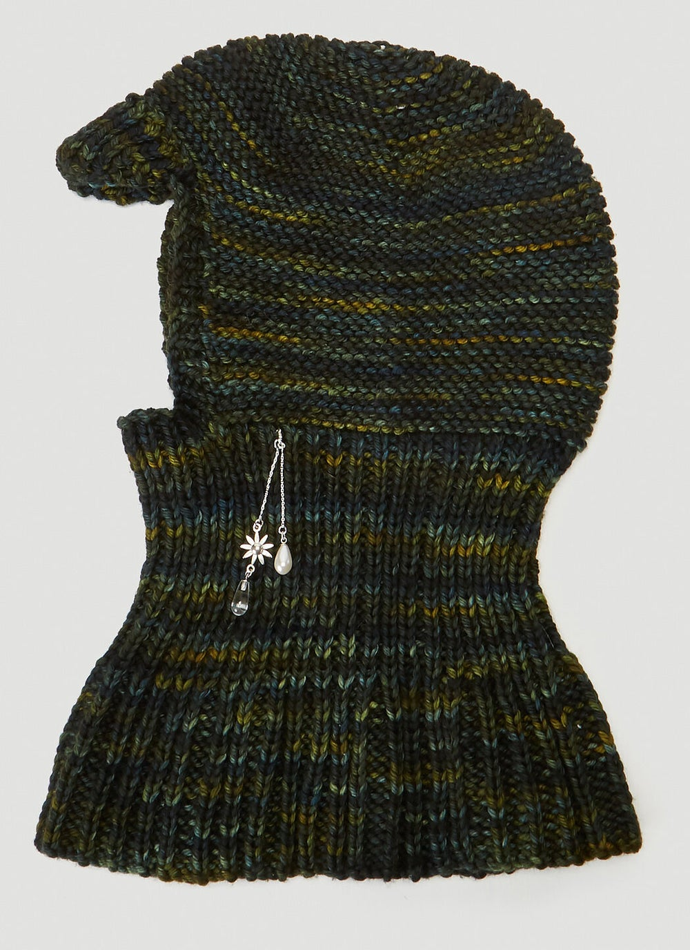 Image of FOREST GREEN WOOL BALACLAVA