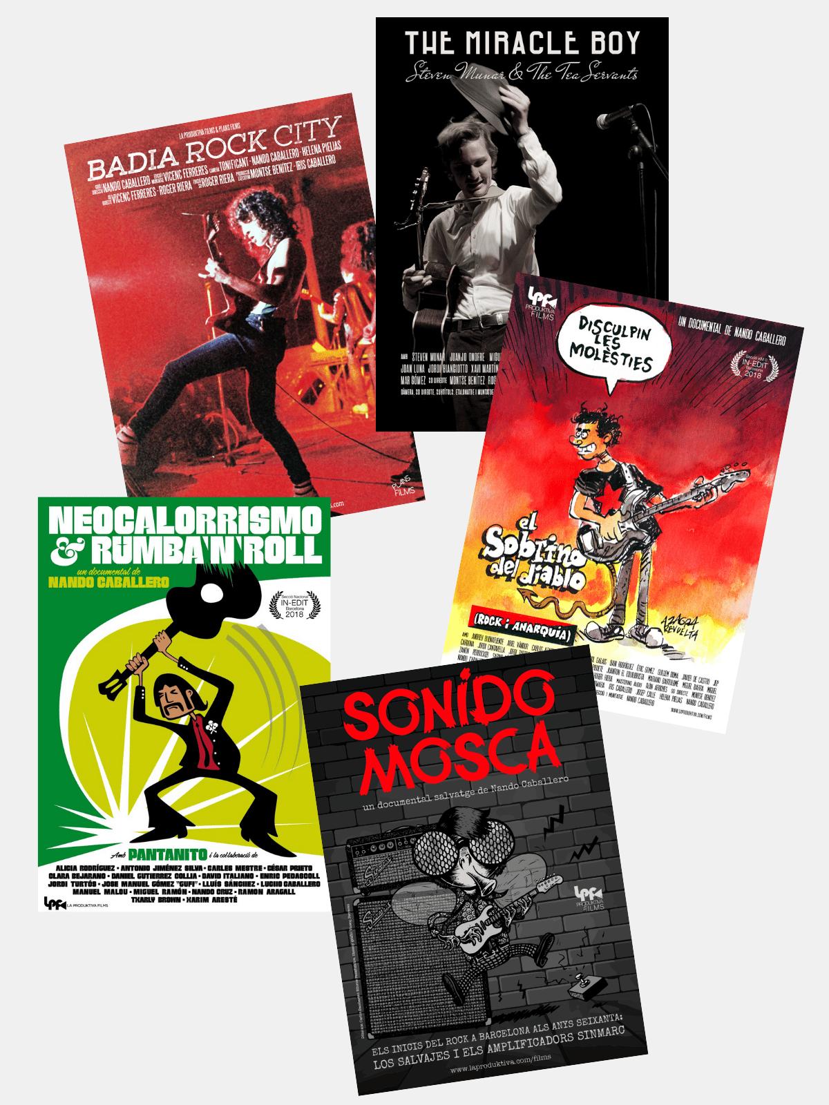 Image of DVD's de La Produktiva Films