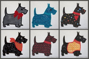 Image of Scottie Dog Applique