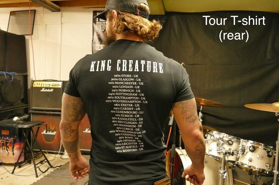Image of KC 2019 WINTER TOUR SHIRT
