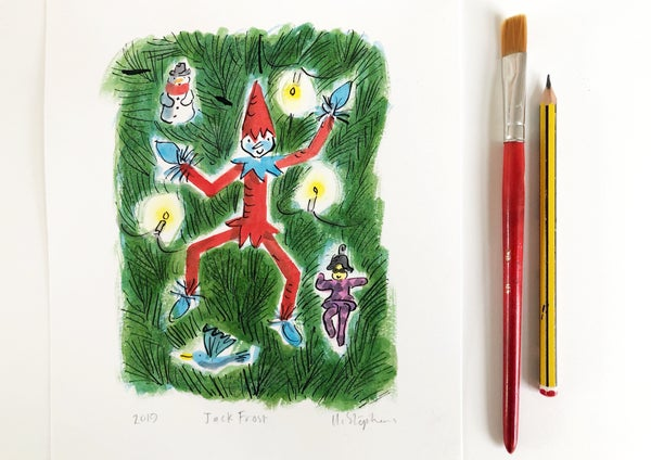 Image of Jack Frost Original Painting