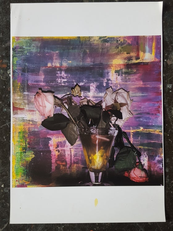 Image of Unique, non-archival, digital ink-jet print signed by the artist  #90