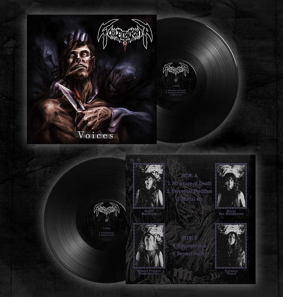 Image of Voices - Vinyl Black
